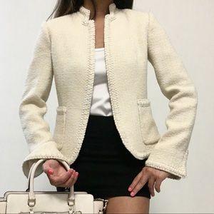 RARE J.CREW Tweed Blazer Jacket